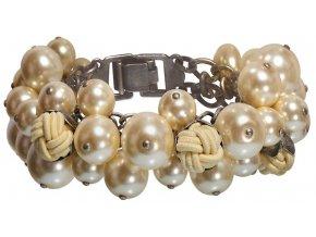 Bubble Pearls - krémová Náramky > Klasické - 5450527807227