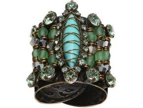 Indianafrica - zelená Prsteny - 5450527829359