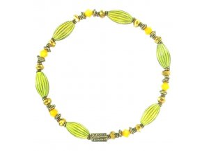 Indianafrica - žlutá Náramky > Elastické - 5450527830119