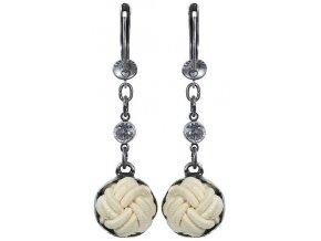 Bubble Pearls - žlutá Náušnice > Francouzské zapínaní - 5450527833240