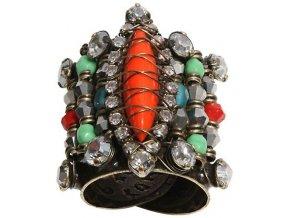 Indianafrica - multi/více barev Prsteny - 5450527834605