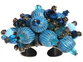 Indianafrica - modrá Prsteny - 5450527834643