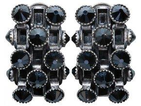 Neon Lights Industrial - černá Náušnice > Klipsy - 5450527877220