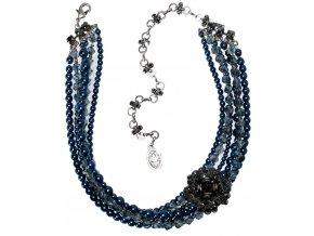 MyRouge - modrá Náhrdelníky - 5450527877411