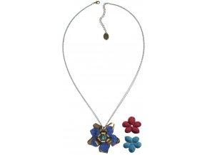 Creepy Flowers - modrá Náhrdelníky - 5450527881319