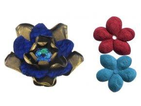 Creepy Flowers - modrá Prsteny - 5450527881340