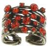 Cages - červená/oranžová Prsteny - 5450543136233
