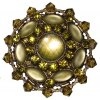 Josephine Baker - zelená/žlutá Brože - 5450527615099