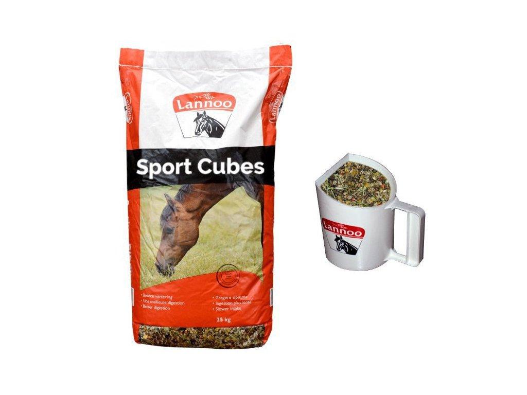 Granule pro koně SPORT Cubes (25 kg)