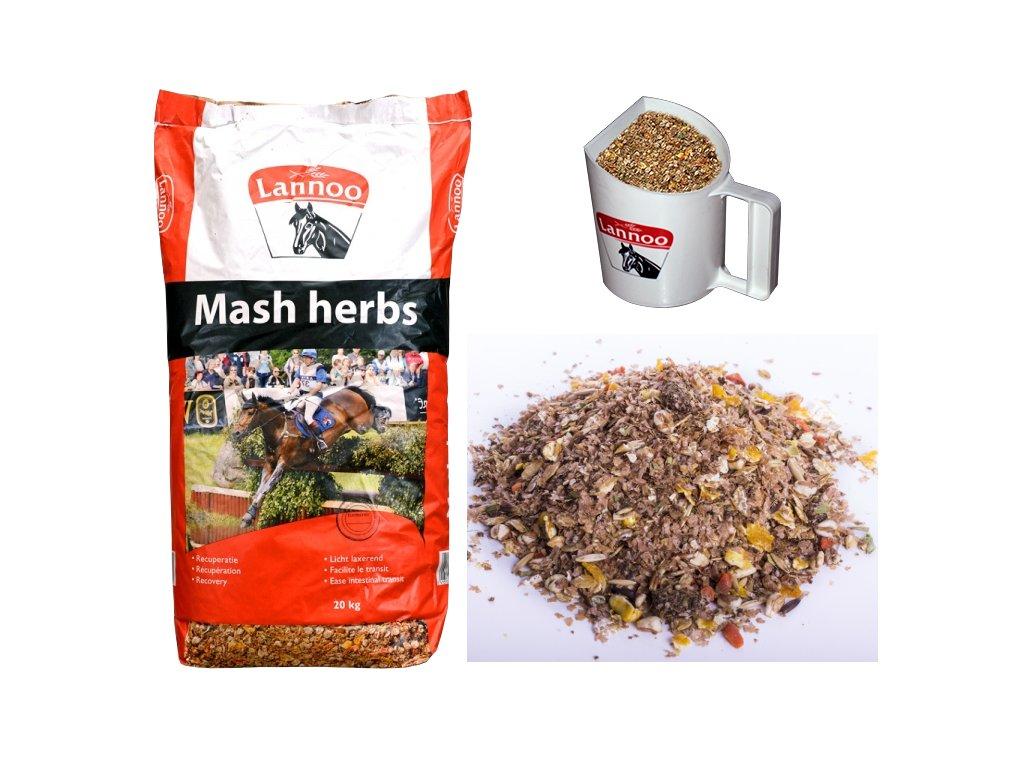 mash herbs