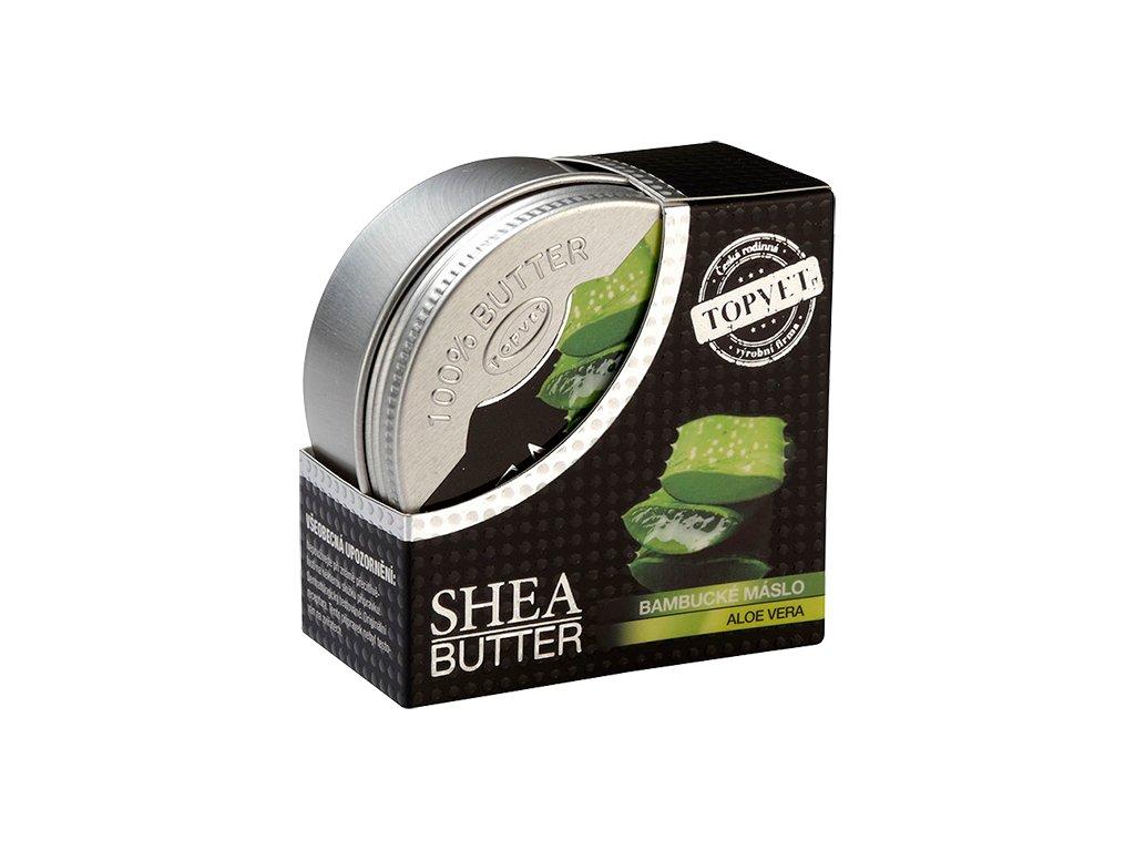 Bambucké máslo (shea butter) s aloe vera 100 ml (TOPVET)