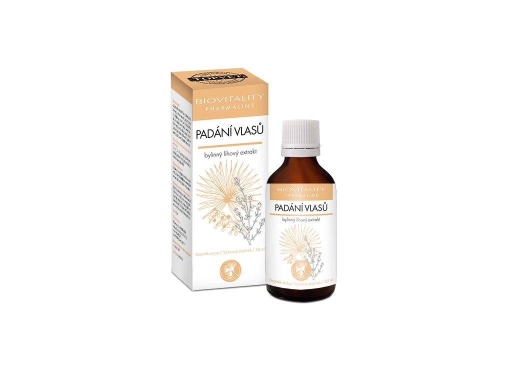 Padání vlasů kapky 50 ml (Biovitality)