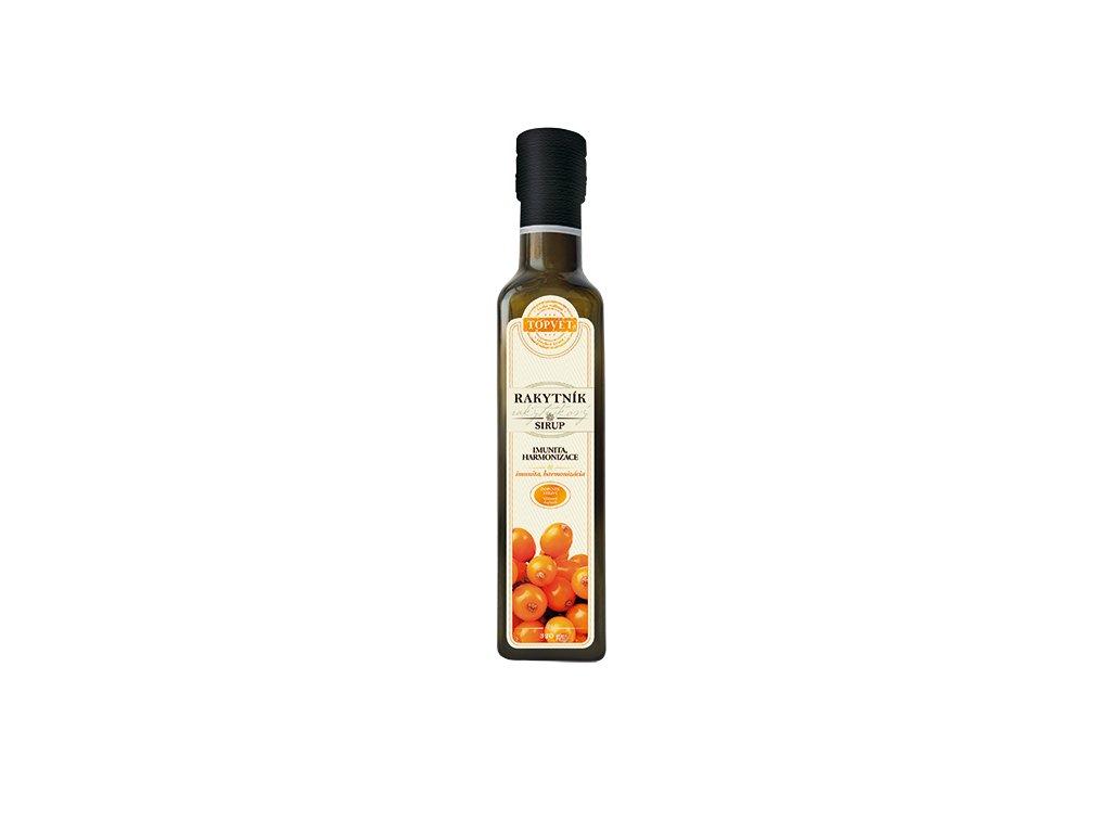 Rakytníkový sirup - farmářský 250 ml (TOPVET)
