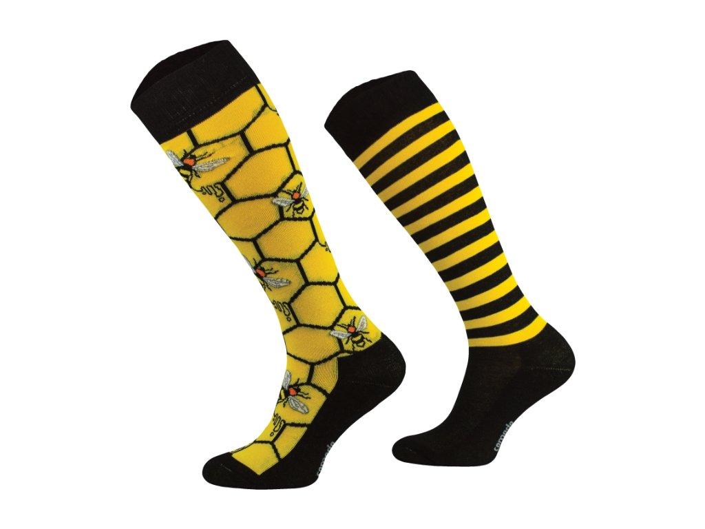 Podkolenky Comodo Duo (yellow)