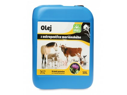 irel ostropestrecovy olej 10l