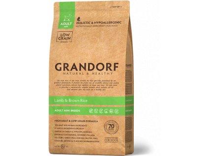 granule Lamb Brown Rice – Adult Mini Breeds