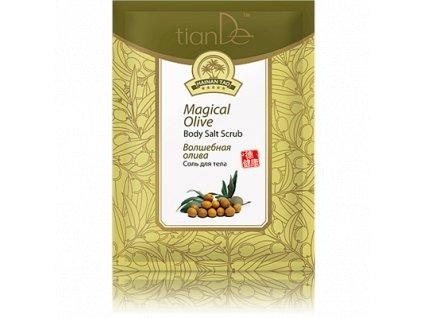 Tělová sůl Kouzelná oliva, 60 g (Tiande)
