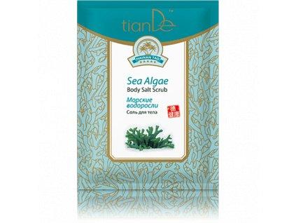 Tělová sůl Mořské řasy, 60 g (Tiande)