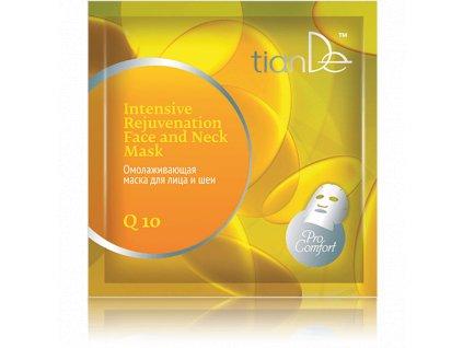 Pleťová maska s extraktem Q10, 1 ks (TianDe)