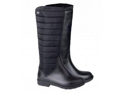 Jezdecké zimní boty Alesund, černé (ELT)