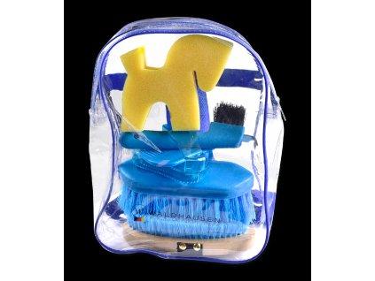 Batoh s čištěním, modrý (Waldhausen)
