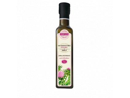 Ostropestřecový sirup - farmářský 250 ml (TOPVET)