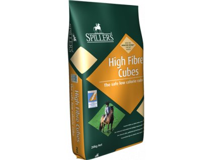 High Fibre Cubes, granule 20 kg (Spillers)
