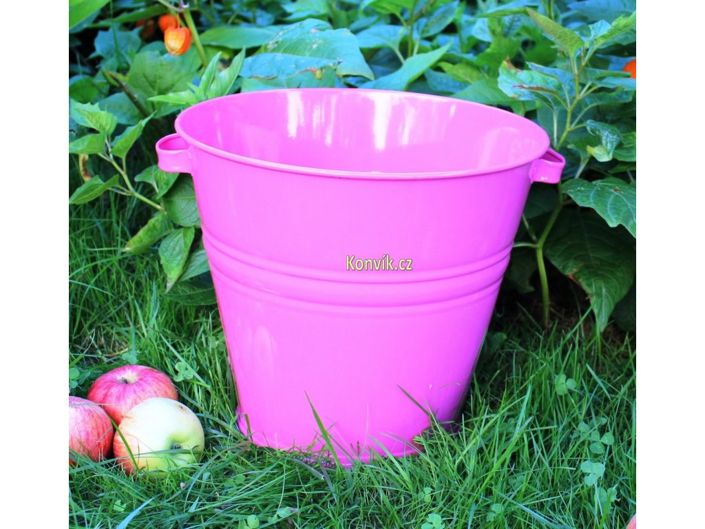 Vědro UR3 10l růžové