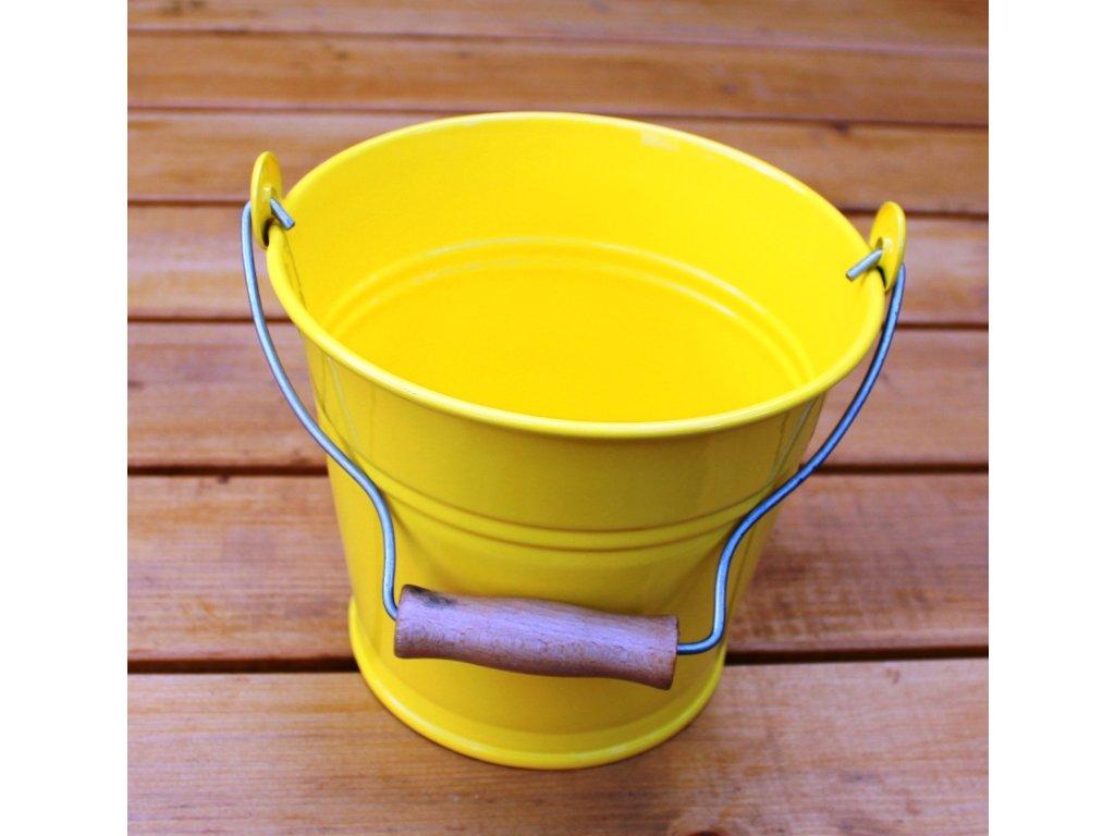Minivědro žluté