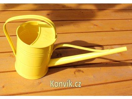 Interiérová konývka žlutá 1,5 l