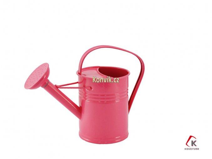 Dětská konvička růžová 1,5l