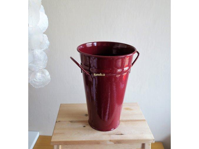 Váza kónická vínová1
