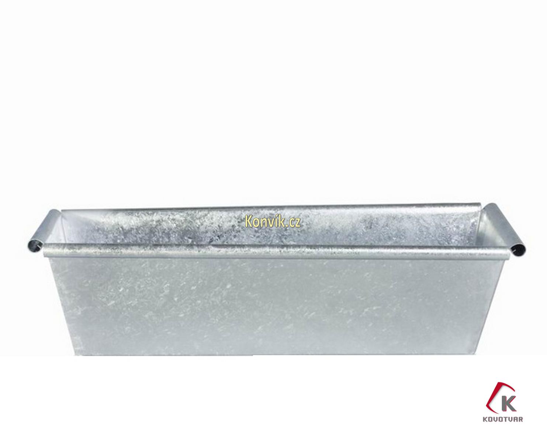 Truhlík kovový pozinkovaný 50 cm