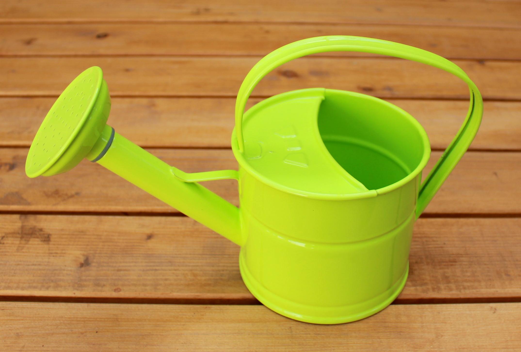 Dětská konvička zelenkavá