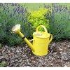 Zahradní konev světle žlutá 5l pozinkovaná
