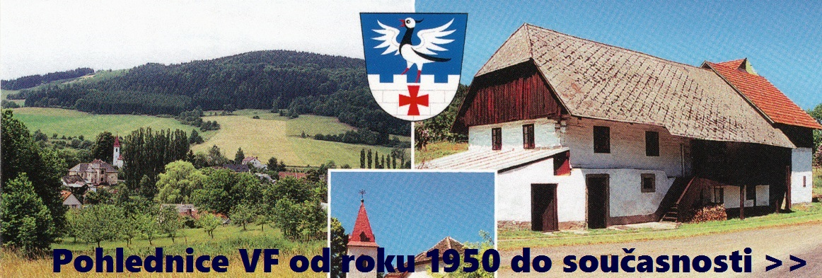 Pohlednice VF od roku 1950