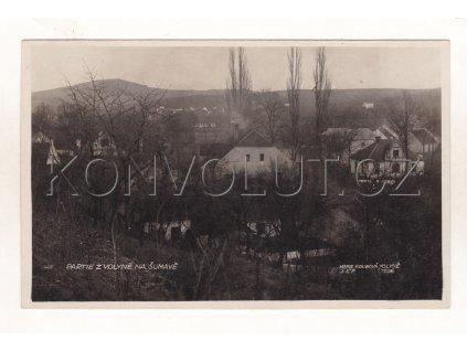 Volyně celkový pohled partie ČB foto nákl. M. Koubová foto J. Švec 1926 1a