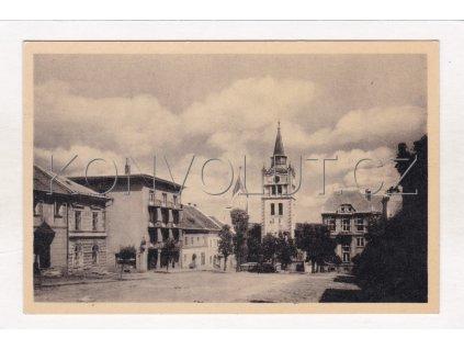 Vimperk náměstí ORBIS MF ČB foto žlutý papír č. 06858 6a