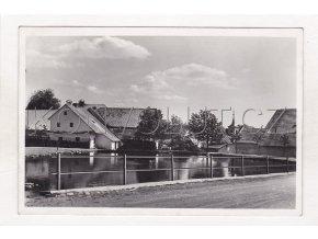 Rokytno Nové Město na Moravě část obce rybník ČB foto vydal Grafo Čuda Holic 35a