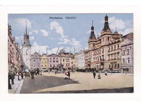 Prosinec2018 2018 12 04 Pardubice náměstí kolorovaný kkco 1a