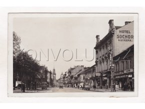 Prosinec2018 2018 12 04 Pardubice Hotel Sochor kavárna Wilsonova třída 1a