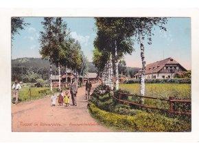 Stožec Tusset pila továrna barevný světlotisk foto J. Seidel 1912 č. 238 1a