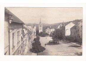 Vimperk náměstí ČB foto J. Seidel č. 93 3 rok 1925 10a