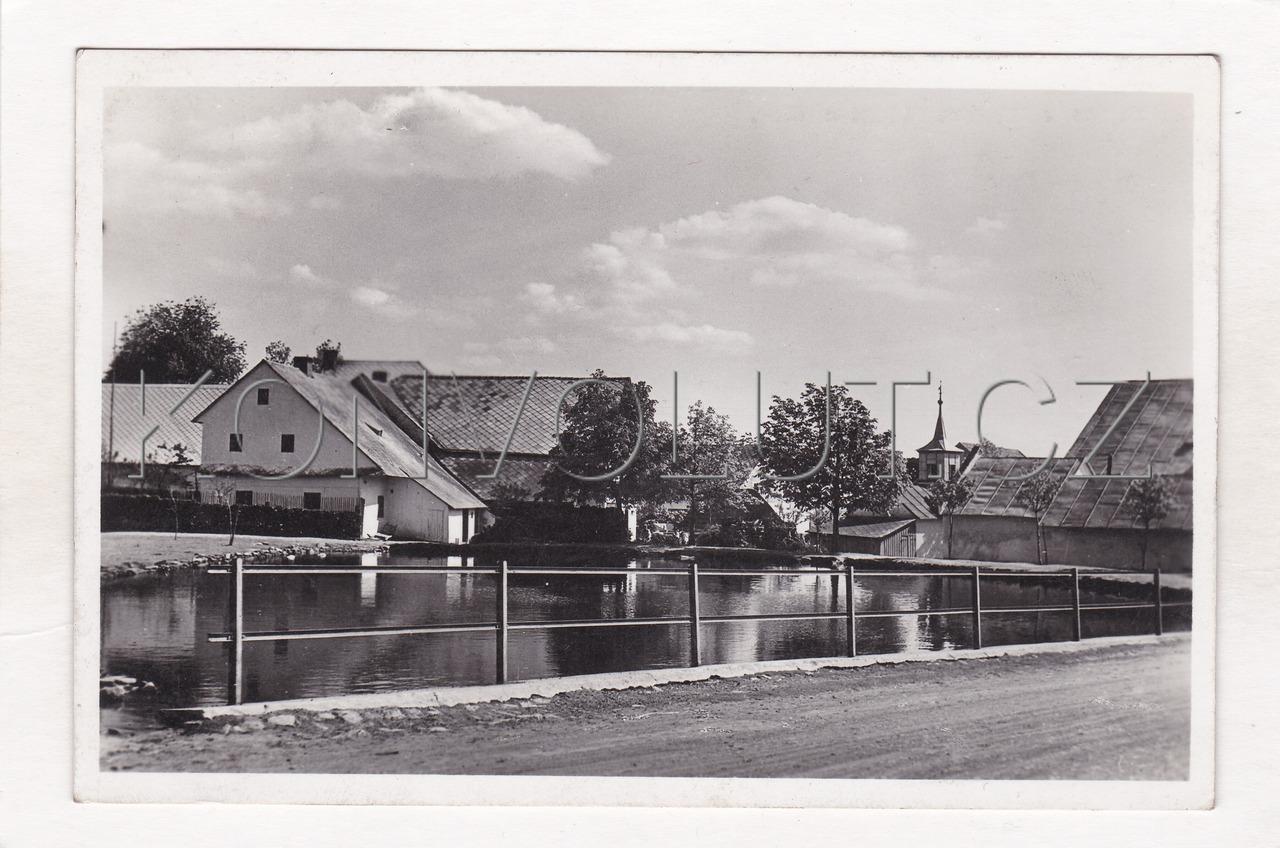 Obrázek  GRAFO Čuda, Holice v Čechách ROKYTNO U NOVÉHO MĚSTA NA MORAVĚ - okres Žďár nad Sázavou, rybník, náves, kaple