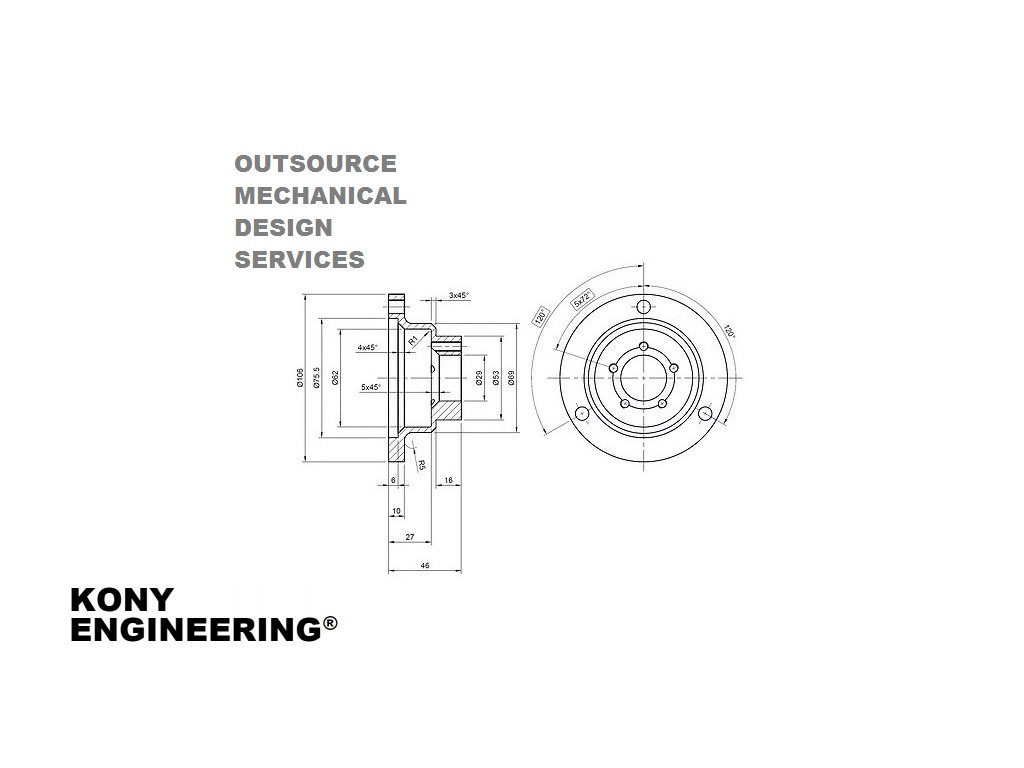 OUTSOURCE MECHANICAL DESIGN SERVICES