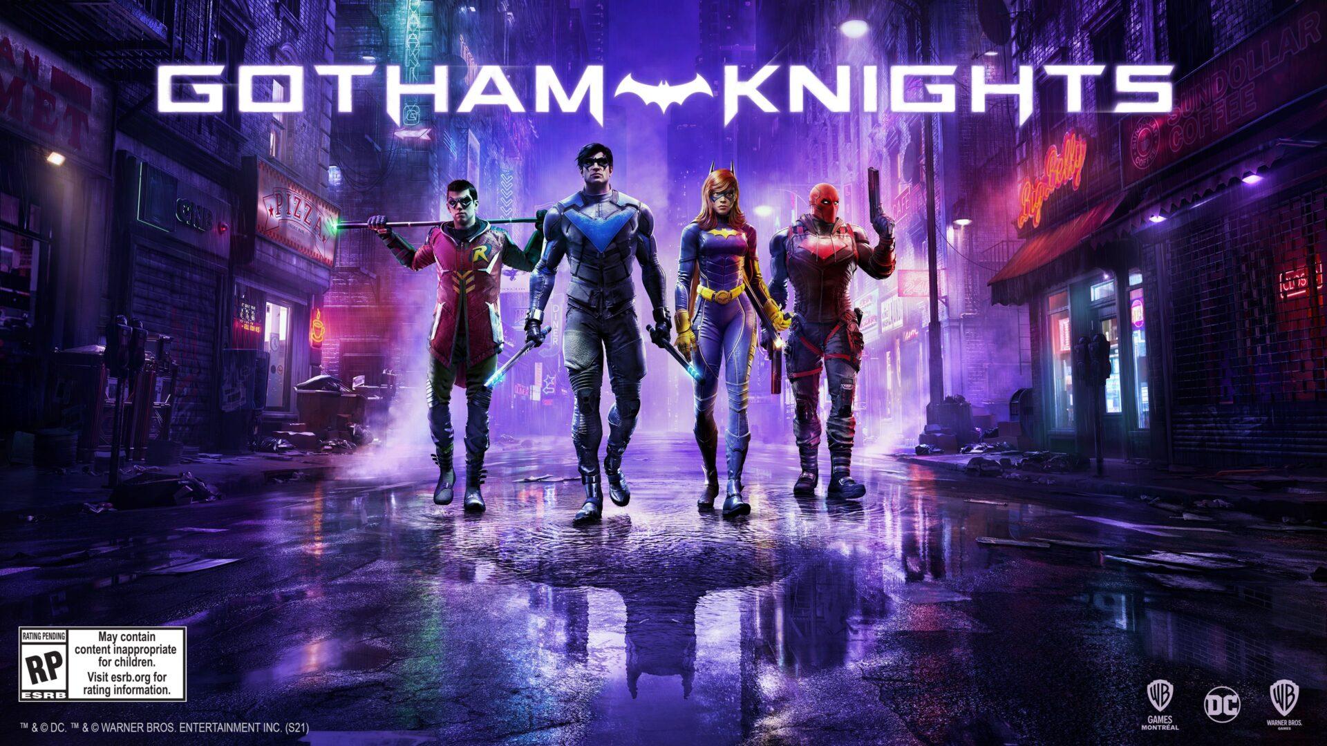 Gotham Knights řádí v novém traileru