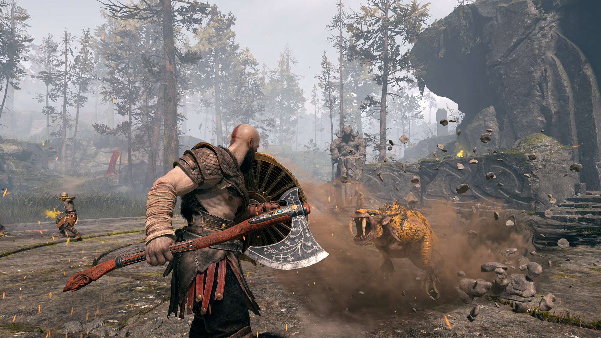 God of War: Ragnarok bude mít české titulky