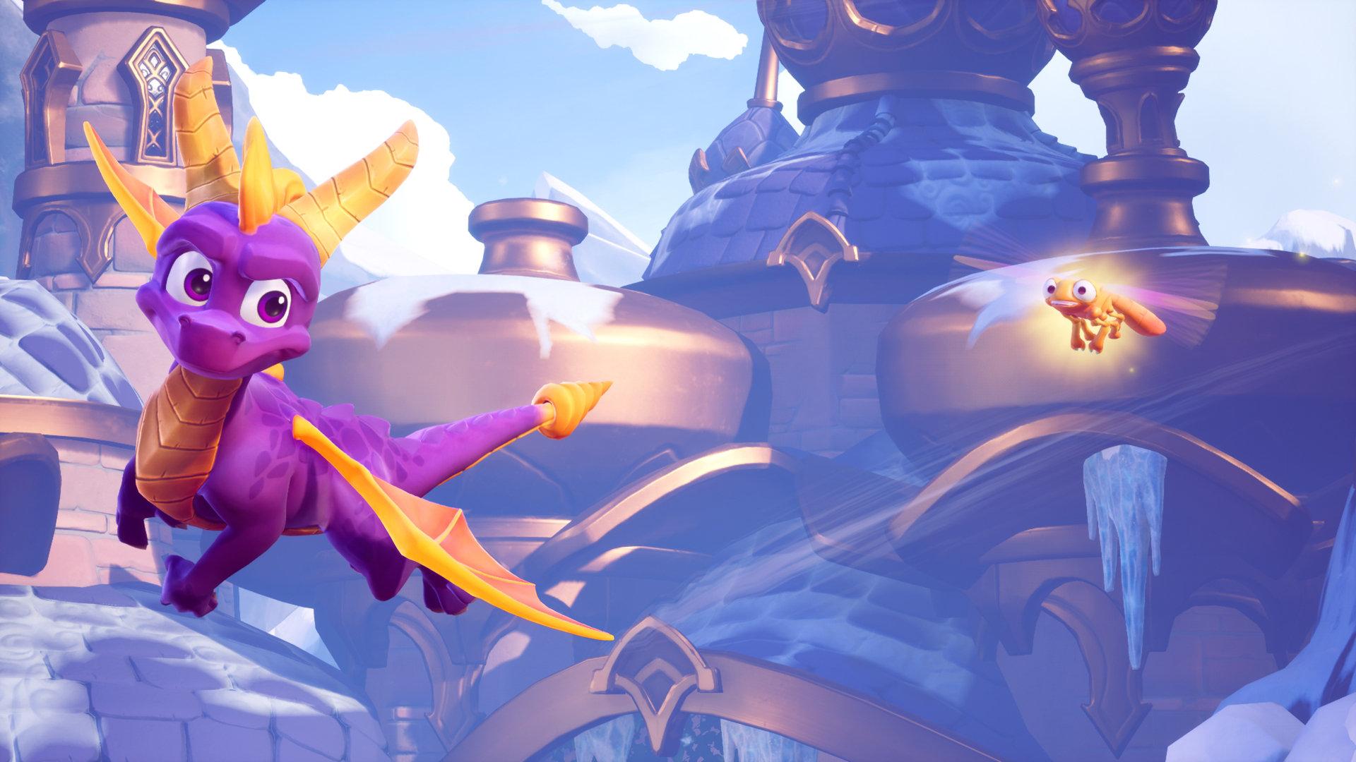 Fialový dráček Spyro vrací nostalgický úder