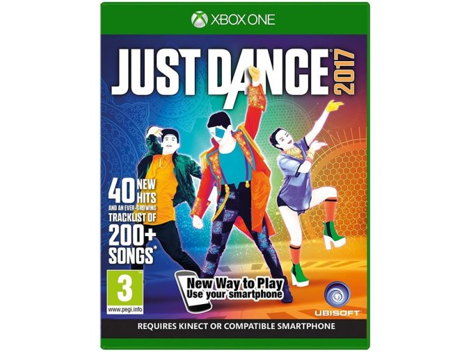 Xbox One Just Dance 2017