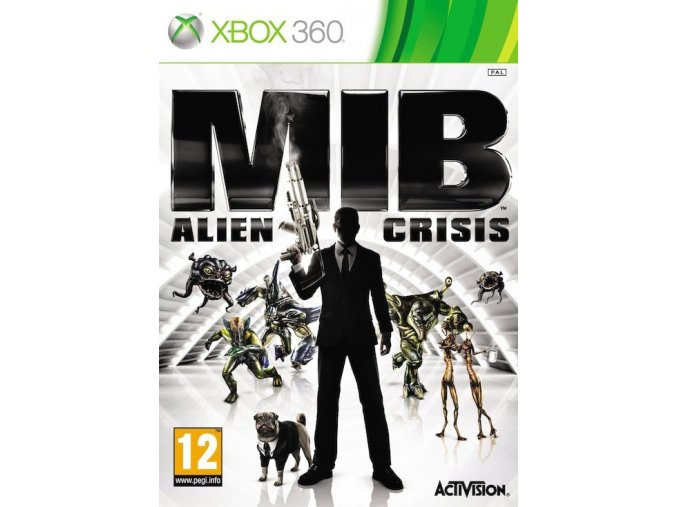 Xbox 360 Men in Black Alien Crisis